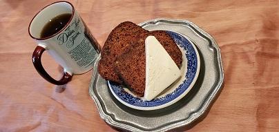 date nut bread appetizer